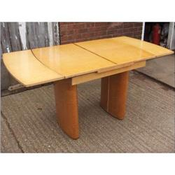 Art Deco Burr Maple Table and Chairs #2394554