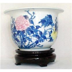 CHINESE JARDINIERE, QIANLONG SIGNED, 19th #2394560