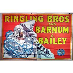 1945 BILLBOARD POSTER ~ RINGLING BROS sign #2394568