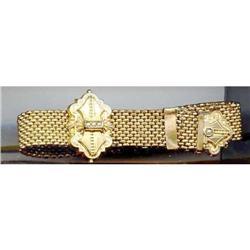 SALE Vintage Rolled  gold Bracelet   1890's #2394579