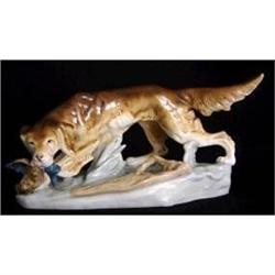 Royal Dux Large Model of a Red Setter  #2394607