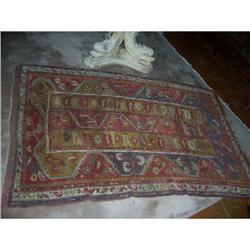 "Antique Turkish Rug, Konya, 47"" by 70"".  #2394631"
