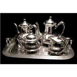 U.S. Silverplate Tea Set  REED & BARTON #2394650