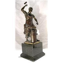 Schwalenberg Sculpture, Blacksmith  in Bronze #2394652