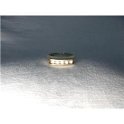 Estate 14K YG Gold Diamond Wedding Band Ring #2394672