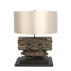 Half Pillar Table Lamp #2394683