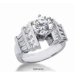 3.44 carats diamond ring white gold jewelry #2394687