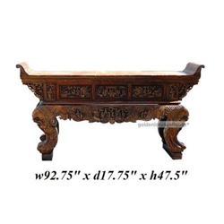 Vintage Chinese Eight Immortal Fu-Dog Altar #2394908