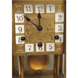 French Art Nouveau  Quarter Hour Repeater Clock#2394926
