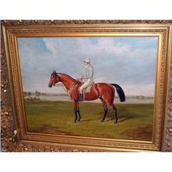 Horse and Jockey quality oil painting #2394994