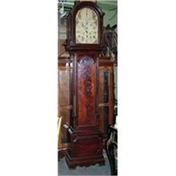 English 18th Grandfather clock  signed sphere #2395008