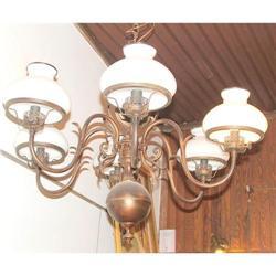 Antique Gas Dutch Williamsburg  chandelier #2395015
