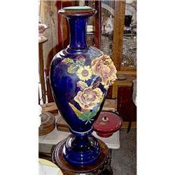 Ceramic  Art Nouveau Vase   #2395024
