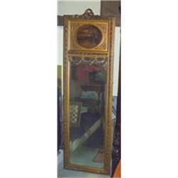 Tall French Mirror, Trumeau  Gilt  #2395040