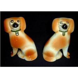 Antique Pair of Staffordshire Dogs #2395099
