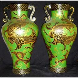 Antique Pair of Palace Urns #2395108