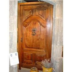 French Walnut Entry Door #2395145