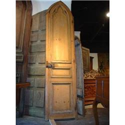 Antique Gothic Door from a Chapel in France #2395146