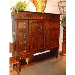 French Cabinet Converted from a Lit Clos #2395149