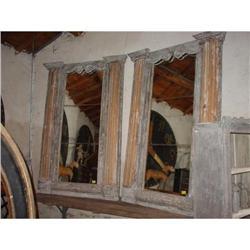 Pair of Antique Italian Mirrors; Parcel Gilding#2395160