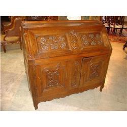 French Louis XIV Style Slant Front Desk #2395165