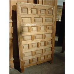 Antique Walnut Wood Door from Spain #2395167