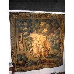 Antique French Woven Tapestry 17th C #2395173