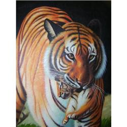 Jay Mercado of a Tiger and cub #2395181