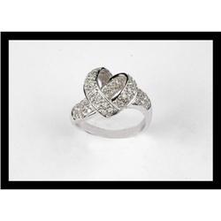 BEAUTIFUL  DIAMOND  YELLOW  GOLD RING #2365492