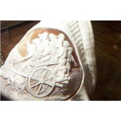 ANTIQUE CONCH SHELL CAMEO CARVING MUSEUM #2365504
