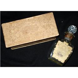 OEILLET LOUIS XV PERFUME BOTTLE CIRCA 1928 #2365535