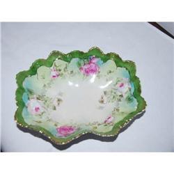 Antique Porcelain Bowl Austrian Moritz Zdekauer#2375541
