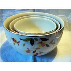 Hall Jewel Tea Autumn Leaf Nested Bowls #2375544