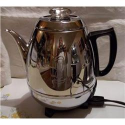 Coffee Pot G.E. Pot Belly Style Small 9 Cup #2375547