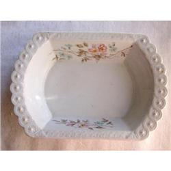 Lovely Antique Ironstone Vegetable Bowl #2375560