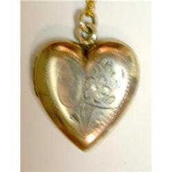 Vintage Heart Locket  #2375571