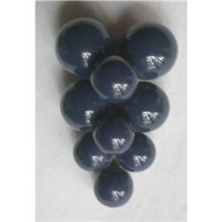 Vintage Dress Clip - Grapes #2375572