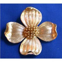 Trifari Vintage Dogwood Blossom Pin #2375579