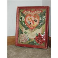 Vintage Valentine Shadowbox PRICE REDUCED #2375583