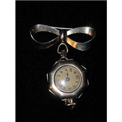Marvin (Swiss) Gold Lapel Pin Watch - Ladies #2375588