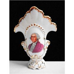 Porcelain George Washington Toothpick Holder #2375597