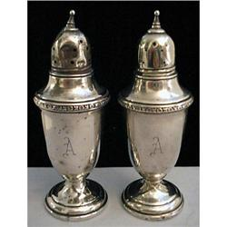 Arrowsmith Silver Salt & Pepper Shakers #2375599
