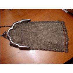 Purse, mesh metal purse #2375607