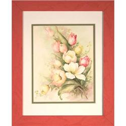 """Tulips"" by Sonie Ames - print #2375619"