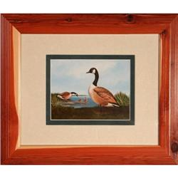 Canada Geese Family  print by A.J. Rudisill #2375623