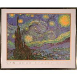 Starry Night Vincent Van Gogh Print #2375628