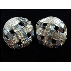 SPECTACULAR RHINESTONE CLIP-ON EARRINGS #2375646