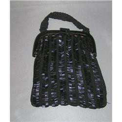 Black Beaded Handbag #2375674