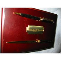 Reflections pen & letter opener in wood box! #2375679