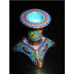 vintage cloisonne candle holder! #2375684
